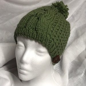 Hand knitted winter hat